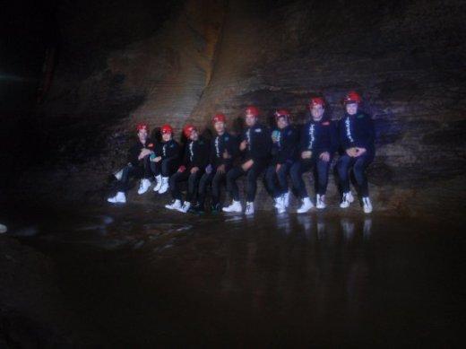NZ caving