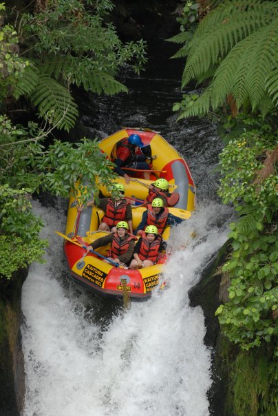 NZ White water rafting