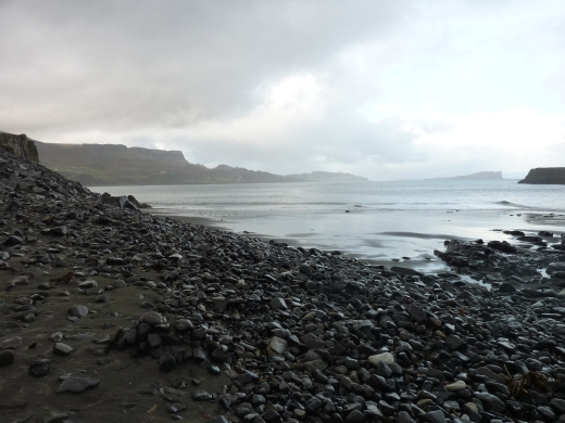Staffin Beach